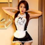 ANJAYLIA-Sexy-Maid-Lingerie-outfits-Lovers-Cosplay-Erotic-Bedroom-Teddy-Set-black-0-0