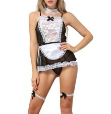 ANJAYLIA-Sexy-Maid-Lingerie-outfits-Lovers-Cosplay-Erotic-Bedroom-Teddy-Set-black-0
