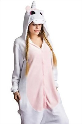 Adult-Unicorn-Kigurumi-Animal-Onesie-Pajamas-Plush-Onsie-One-Piece-Cosplay-Costume-0-1