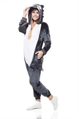 Adult-Wolf-Kigurumi-Animal-Onesie-Pajamas-Plush-Onsie-One-Piece-Cosplay-Costume-0-1