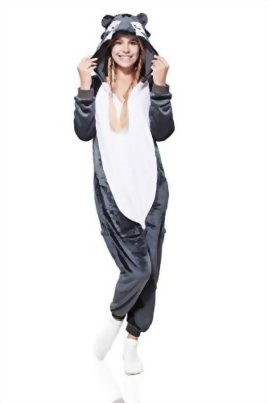 Adult-Wolf-Kigurumi-Animal-Onesie-Pajamas-Plush-Onsie-One-Piece-Cosplay-Costume-0