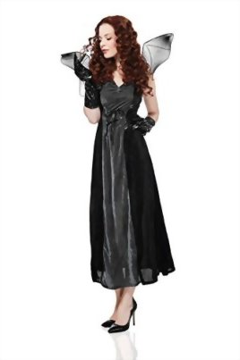 Adult-Women-Bat-Costume-Halloween-Cosplay-Role-Play-Evil-Night-Demon-Dress-Up-0-1
