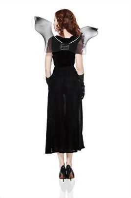 Adult-Women-Bat-Costume-Halloween-Cosplay-Role-Play-Evil-Night-Demon-Dress-Up-0-2