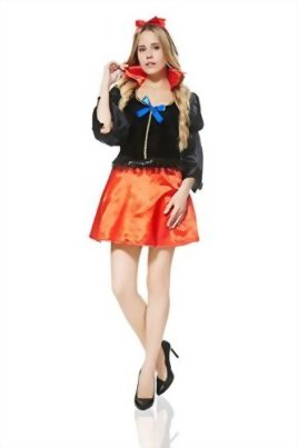 Adult-Women-Fairest-Damsel-Maiden-Fairy-Tale-Costume-Role-Play-Cosplay-Dress-Up-0-0