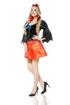 Adult-Women-Fairest-Damsel-Maiden-Fairy-Tale-Costume-Role-Play-Cosplay-Dress-Up-0-1