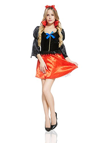 Adult-Women-Fairest-Damsel-Maiden-Fairy-Tale-Costume-Role-Play-Cosplay-Dress-Up-0