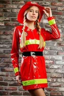 Adult-Women-Firewoman-Costume-Firefighter-Role-Play-Fire-Hero-Rescuer-Dress-Up-0-1
