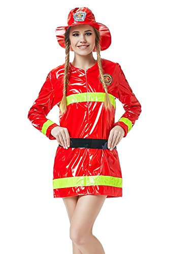 Adult-Women-Firewoman-Costume-Firefighter-Role-Play-Fire-Hero-Rescuer-Dress-Up-0