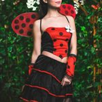 Adult-Women-Ladybug-Costume-Wings-Antennae-Cosplay-Role-Play-Lovebug-Dress-Up-0-3