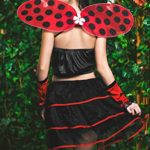 Adult-Women-Ladybug-Costume-Wings-Antennae-Cosplay-Role-Play-Lovebug-Dress-Up-0-4