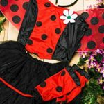 Adult-Women-Ladybug-Costume-Wings-Antennae-Cosplay-Role-Play-Lovebug-Dress-Up-0-5