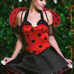 Adult-Women-Ladybug-Princess-Costume-Wings-Cosplay-Role-Play-Lovebug-Dress-Up-0-1