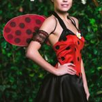 Adult-Women-Ladybug-Princess-Costume-Wings-Cosplay-Role-Play-Lovebug-Dress-Up-0-2
