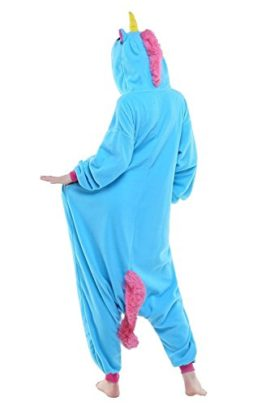 Adult-Women-Mens-New-Kigurumi-Unicorn-Onesies-Pajamas-Cosplay-Halloween-Costume-0-0
