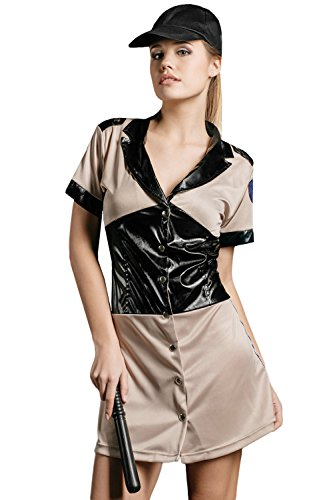 Adult-Women-Prison-Guard-Halloween-Costume-Naughty-Sheriff-Dress-Up-Role-Play-0
