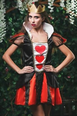 Adult-Women-Queen-of-Hearts-Costume-Cosplay-Role-Play-Wonderland-Empress-Dress-Up-0-0