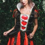 Adult-Women-Queen-of-Hearts-Costume-Cosplay-Role-Play-Wonderland-Empress-Dress-Up-0-1