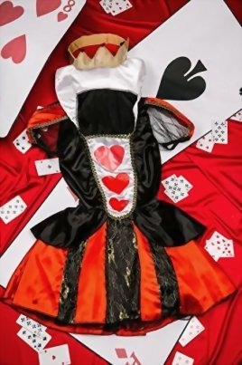 Adult-Women-Queen-of-Hearts-Costume-Cosplay-Role-Play-Wonderland-Empress-Dress-Up-0-3