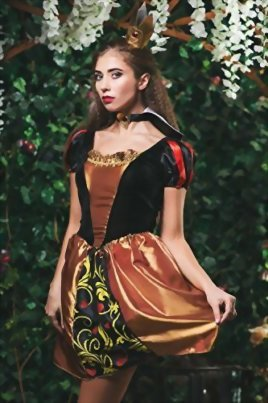 Adult-Women-Queen-of-Hearts-Costume-Cosplay-Role-Play-Wonderland-Monarch-Dress-Up-0-1