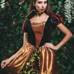 Adult-Women-Queen-of-Hearts-Costume-Cosplay-Role-Play-Wonderland-Monarch-Dress-Up-0-2