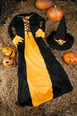 Adult-Women-Witch-Costume-Sorceress-Halloween-Cosplay-Role-Play-Fairy-Dress-Up-0-3