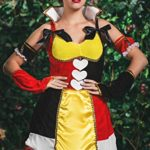 Adult-Women-Wonderland-Monarch-Costume-Cosplay-Role-Play-Queen-of-Hearts-Dress-Up-0-0