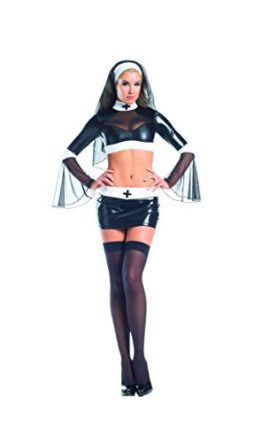 Adult-Womens-3-Piece-Sexy-Naughty-Catholic-Nun-Halloween-Party-Costume-0
