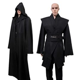 Allten-Mens-Cosplay-Costume-Black-Linen-Halloween-Robe-Tunic-Outfit-0-1