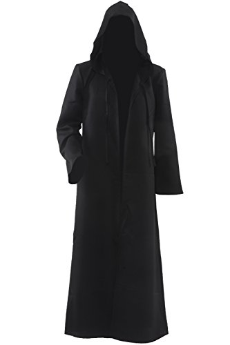 Allten-Mens-Costume-Halloween-Black-Tunic-Hooded-Robe-Cloak-0