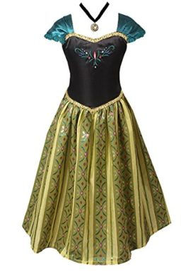American-Vogue-ADULT-WOMEN-FROZEN-ANNA-Elsa-Coronation-Dress-Costume-0