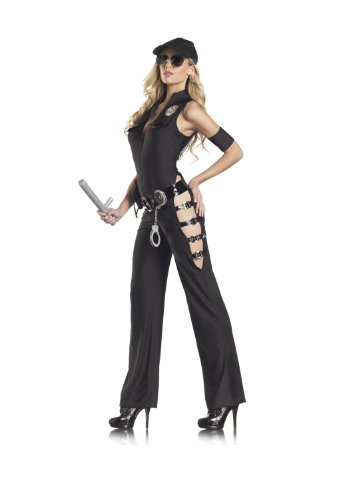 Be Wicked Costumes Women's Midnight Sherriff Costume