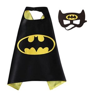 Blue-Heron-DC-Superheroes-Adult-Size-Batman-Bat-Logo-Cape-and-Mask-wGift-Box-0