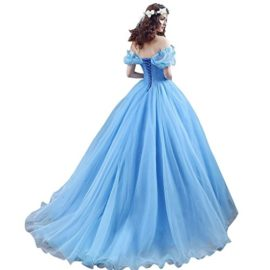 CEZOM-Womens-Cinderella-Quinceanera-Prom-Dress-Tulle-Ball-Gown-Lace-Up-0-0