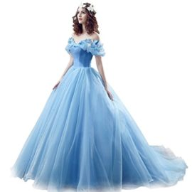 CEZOM-Womens-Cinderella-Quinceanera-Prom-Dress-Tulle-Ball-Gown-Lace-Up-0