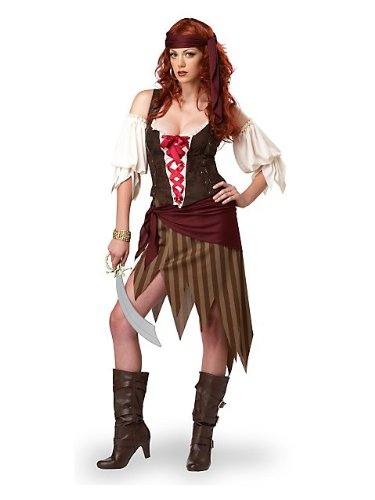 California Costumes Buccaneer Beauty Adult Costume