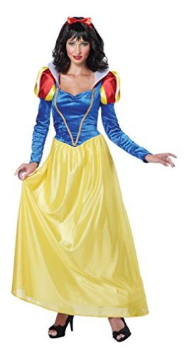 California-Costumes-Snow-White-Adult-Costume-BlueYellow-0