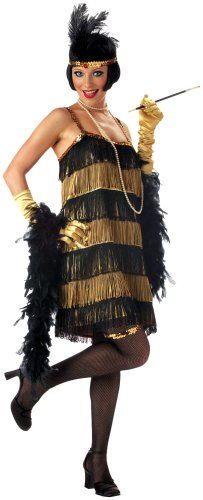 California Costumes Women's Adult-Jazz Time Honey Costume