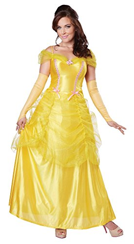 California Costumes Women's Classic Beauty Fairytale Princess Long Dress Gown