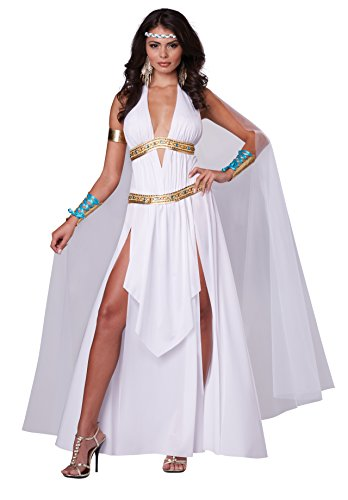 California Costumes Women's Glorious Goddess Sexy Long Gown Costume