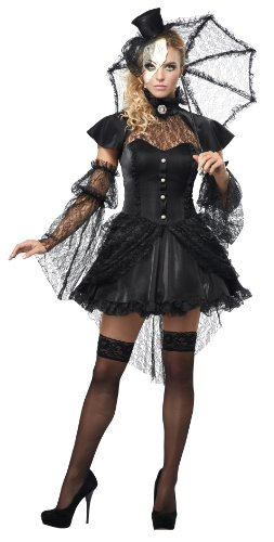 California Costumes Women's Platinum Collection – Victorian Doll Adult
