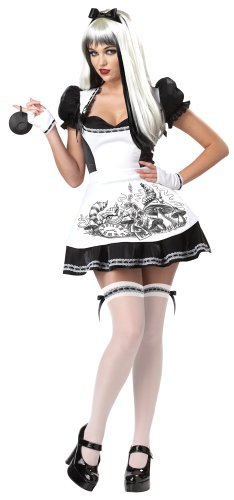 California Costumes Women's Platium Collection – Dark Alice Adult