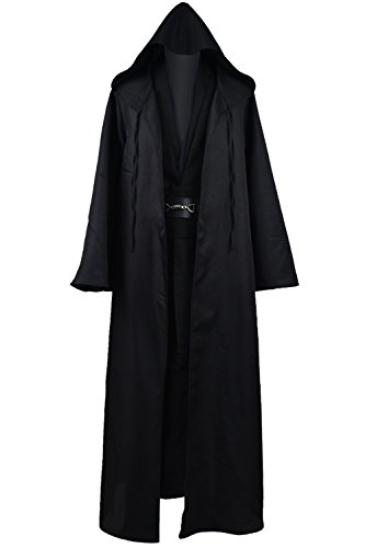 Cosdaddy® Mens Cosplay Costume Halloween Outfit Black Version
