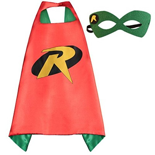 DC-Comics-Adult-Size-Robin-Logo-Cape-and-Mask-with-Gift-Box-by-Superheroes-0