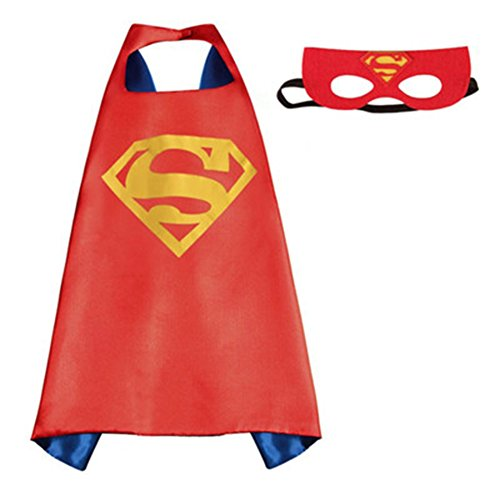DC-Comics-Adult-Size-Superman-Logo-Cape-and-Mask-with-Gift-Box-by-Superheroes-0