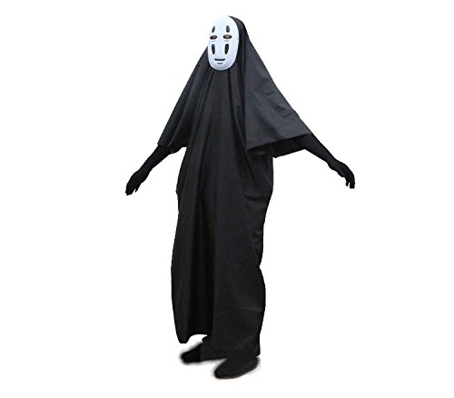 Danyer-Fancy-No-Face-Spirited-Away-Cosplay-Costume-with-Mask-gloves-for-Halloween-0-2
