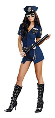 Dreamgirl-Womens-Officer-B-Naughty-Costume-0