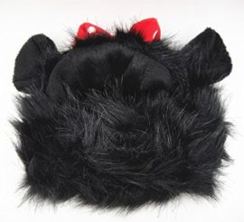 FAMI-Pet-Wig-with-Ears-for-Dogs-or-Cats-Christmas-Costumes-Festival-Party-Clothes-Fancy-Dress-Up-Optional-of-Three-Color-Mickey-Lion-Mane-Panda-0-5