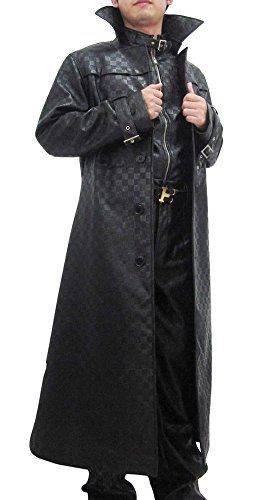 Fancy-Super-Villains-Cosplay-Costume-Outfits-Suit-for-Mens-Halloween-Black-0