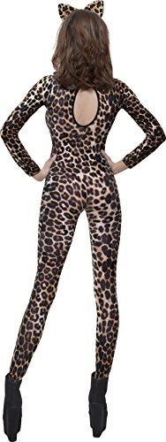 Fever Women's Cheetah Print Bodysuit In Display Box