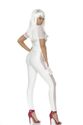 Forplay-Womens-Thunderous-Catsuit-and-Headband-0-0
